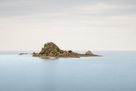 ISOLATED ISLAND -HONSHU -JAPAN -2019