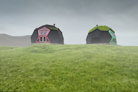 DOME CABIN -FAROE ISLANDS -2018