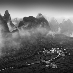 XIANGGONG MOUNTAIN -GUILIN -CHINA -2017