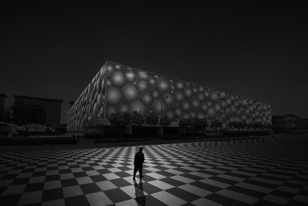 WATER CUBE -BEIJING -CHINA -2015